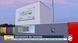 Tangará da Serra recebe o primeiro ecoponto para descarte de entulho