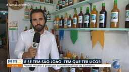 São João: 'Festival do Licor' reúne 10 produtores de Cachoeira