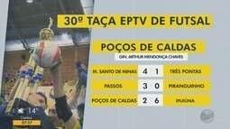 Confira os resultados dos jogos da Taça EPTV de Futsal