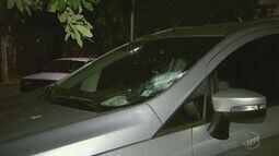 Criminosos atiram pedras nos carros em plena Rodovia Anhanguera em Ribeirão Preto