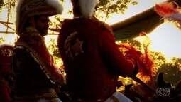 Cavalhadas de Goiás são marcadas por tradição e espetáculo de fantasias coloridas