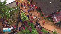 Após mortes em deslizamento de barreira, Camaragibe decreta situação de emergência