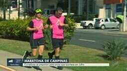 Corredores se preparam para Maratona de Campinas
