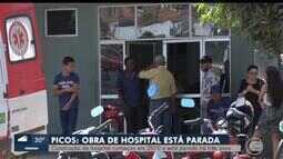 Obra do hospital de Picos está parada há 3 anos