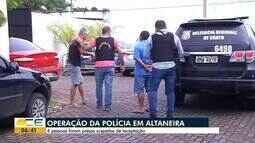Quatro pessoas são presas suspeitas de receptação em Altaneira