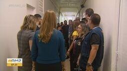 Comissão visita obra do maior hospital infantil público do AP e cobra retomada do serviço