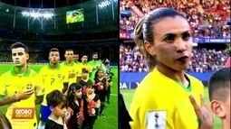 Copa do Mundo x Copa América: aplausos e vaias para as Seleções