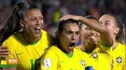 Brasil 1 x 0 Itália: Marta faz história, e Seleção se classifica na terceira posição