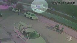Vídeo mostra acidente com carreta de cerveja em Jarinu