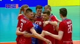 Melhores momentos: Alemanha 1 x 3 Rússia pela Liga das Nações de Vôlei Masculino