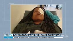 Jovem perde a visão de um dos olhos após ser atingida por bala de borracha na Bahia
