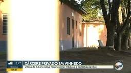 Idosa de 63 anos vítima de cárcere privado em Vinhedo deve fazer exames médicos