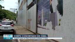 Suspeito de matar mulher e concretar o corpo em obra em Vila Velha, ES, é preso