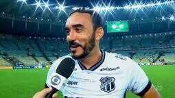Ceará empata com Fluminense na reestreia da Série A
