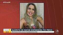 Alagoinhas: suspeito de matar enfermeira a facadas é preso