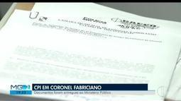 Documentos de CPI que investiga prefeitura de Fabriciano é entregue ao Ministério Público