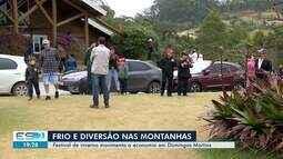 Festival de inverno movimenta a economia em Domingos Martins, ES