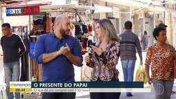 Ádison Ramos e Alyssa Gomes encaram desafio de comprar presentes para os pais com R$ 150