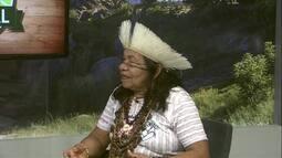 Cacique Pequena fala sobre a aldeia dos índios Jenipapo-Canindé
