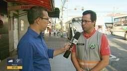 Obras fazem prefeitura transferir ponto de ônibus em Poços de Caldas, MG