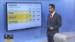 Confira a previsão do tempo para Varginha, MG