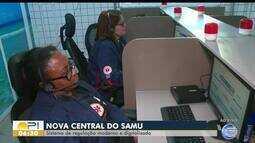 Nova central do Samu começa a operar em Teresina