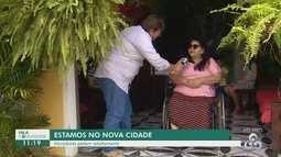Moradora do bairro Nova Cidade reclama da falta de acessibilidade em ruas
