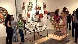 Exposição do trabalho em couro de Espedito Seleiro