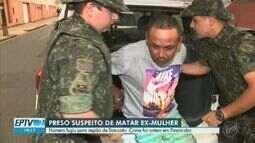 Suspeito de esfaquear e matar ex-mulher em Piracicaba é preso na região de Botucatu