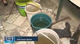 Chuvas de domingo melhoram abastecimento, mas alerta para estiagem segue, diz Casan