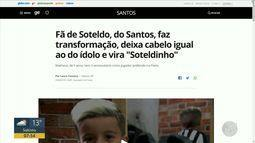 Globoesporte.com: recorde na arquibancada do Brasileirão e torcedor cadeirante do Náutico