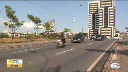 Repórter Heliana Gonçalves mostra como está o trânsito no Barro Duro