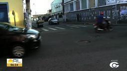 Semáforo intermitente deixa trânsito complicado no centro de Maceió