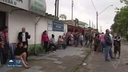 Posto de Saúde em São Vicente, SP, tem apenas um médico para atender todas especialidades