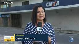 Correntistas da Caixa têm até domingo para definir pagamento do saque emergencial do FGTS
