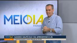 Sandro Dalpícolo fala sobre expectativa para apresentar o Jornal Nacional