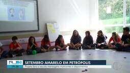 Projeto leva a escola mensagens motivacionais e depoimentos