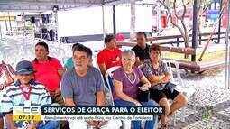 TRE faz atendimento na Praça do Ferreira