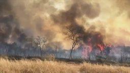 Queimada atinge reserva ambiental em distrito de Urupês