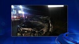 Homem morre em acidente com três veículos na Rodovia Castello Branco