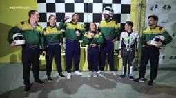Galera do Globo Esporte Sergipe encara desafio no Kart