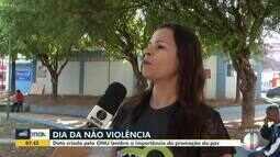 Dia da Não Violência é comemorado em Montes Claros