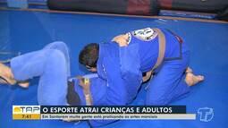 Jiu-jitsu atrai cada vez mais adeptos em Santarém