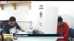 Câmara Mirim realiza eleições em escola de Ipatinga