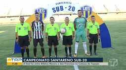 Campeonato Santareno Sub-20 chegou ao fim nesse fim de semana