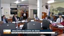 Projeto de lei pede desconto quando faltar água em Tangará da Serra