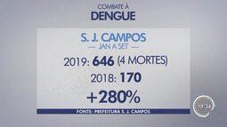 Combate ao mosquito da dengue deve ser mantido em dias frios