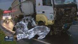 Duas pessoas morrem em acidente em rodovia de São Carlos