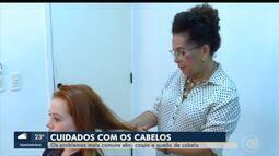 Problemas na saúde dos cabelos afetam também a autoestima dos pacientes