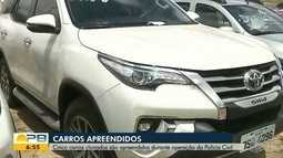 Cinco carros clonados são apreendidos durante operação da Polícia Civil